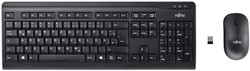 Fujitsu LX410 toetsenbord RF Draadloos QWERTY Engels Zwart